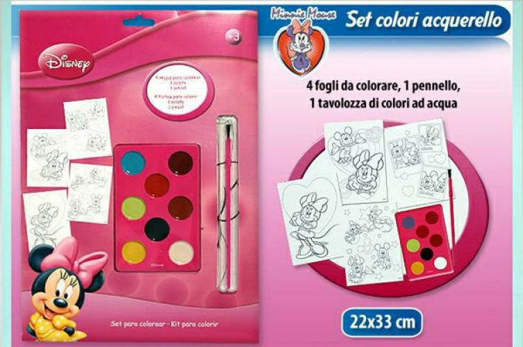 ALBUM DA COLORARE MINNIE